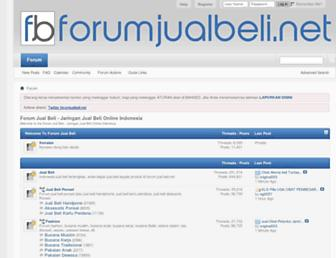 Thumbshot of Forumjualbeli.net