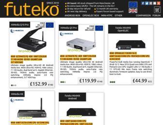 futeko.com screenshot