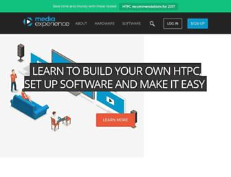 mediaexperience.com screenshot