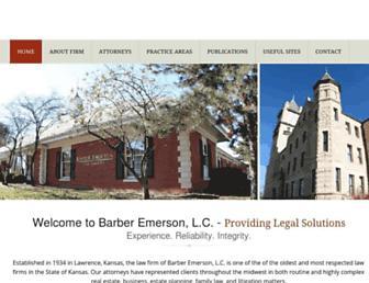 barberemerson.com screenshot