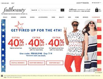 Thumbshot of Fullbeauty.com