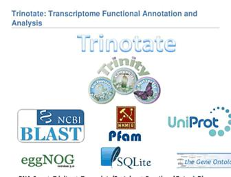 trinotate.github.io screenshot