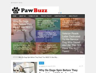 Thumbshot of Pawbuzz.com