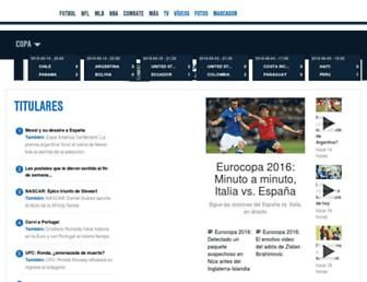 Thumbshot of Foxdeportes.com