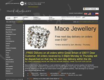 Main page screenshot of deansjewellery.co.uk