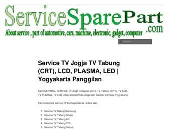 servicesparepart.com screenshot