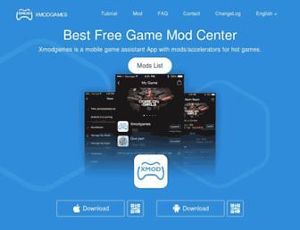 xmodgames.com screenshot