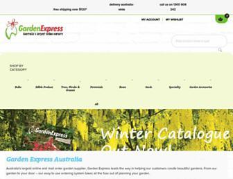 gardenexpress.com.au screenshot