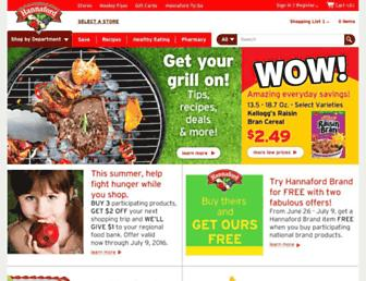 Thumbshot of Hannaford.com