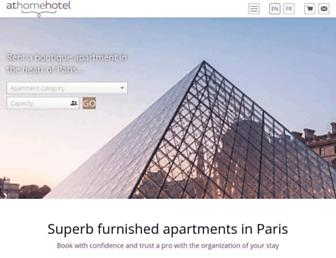 athome-hotel.com screenshot