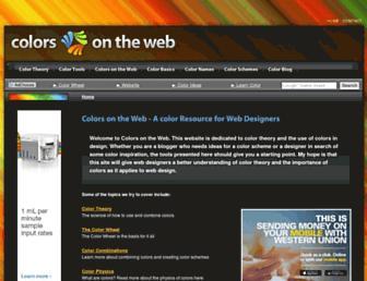 Thumbshot of Colorsontheweb.com