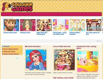 Thumbshot of Goldhairgames.com