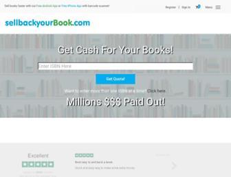 Thumbshot of Sellbackyourbook.com