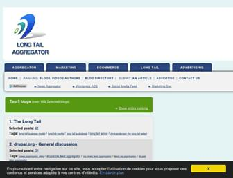 longtailaggregator.com screenshot