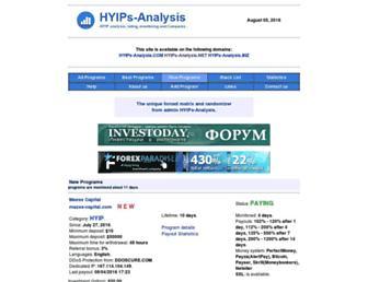 Thumbshot of Hyips-analysis.net