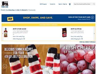 Thumbshot of Foodlion.com