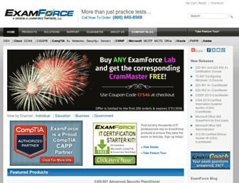 Thumbshot of Examforce.com
