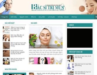 bacsitrimun.com screenshot