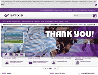 Thumbshot of Natixis.com