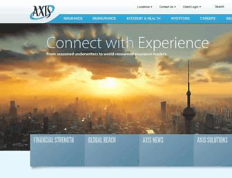 axiscapital.com screenshot