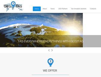 geo2tag.com screenshot