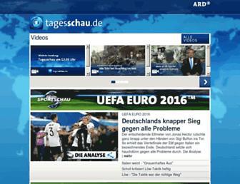 Thumbshot of Tagesschau.de