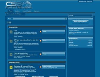 csb.vu screenshot