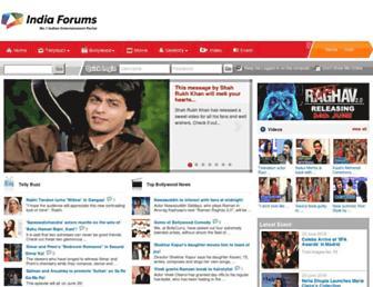 Thumbshot of India-forums.com