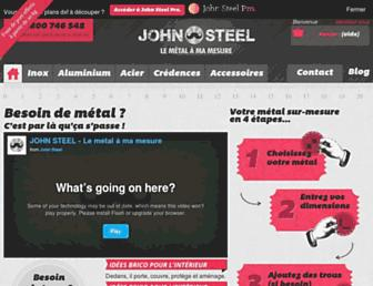 john-steel.com screenshot