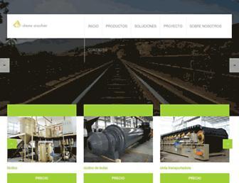 Main page screenshot of pacesprl.eu