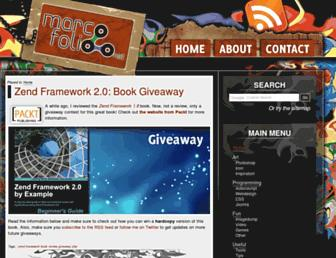 old.marcofolio.net screenshot