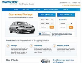 progressive.truecar.com screenshot