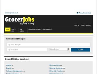 jobs.thegrocer.co.uk screenshot