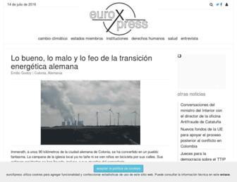 euroxpress.es screenshot