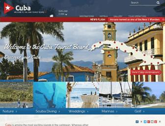 travel2cuba.co.uk screenshot