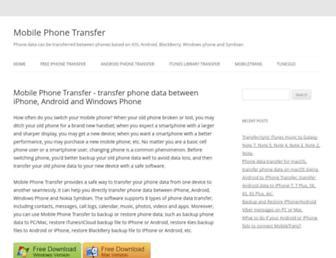 mobile-phone-transfer.com screenshot