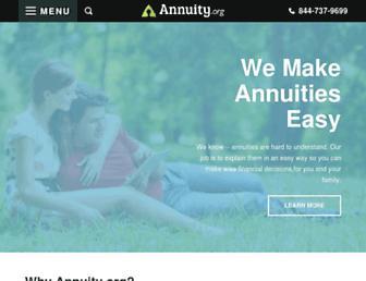 annuity.org screenshot