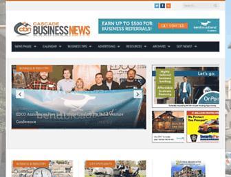 cascadebusnews.com screenshot
