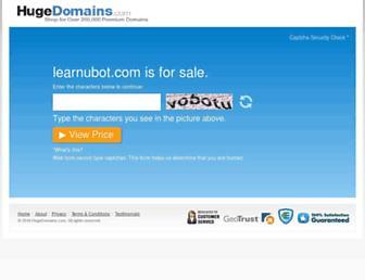 Thumbshot of Learnubot.com