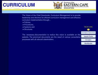 eccurriculum.co.za screenshot