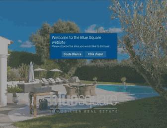 blue-square.com screenshot
