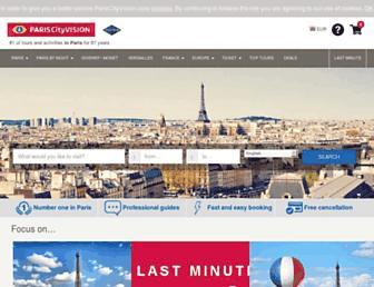 Thumbshot of Pariscityvision.com
