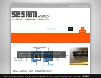 sesam-world.com screenshot