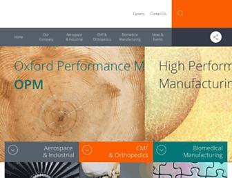 oxfordpm.com screenshot