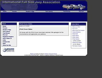 ifsja.org screenshot