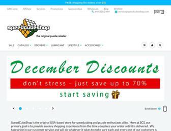 speedcubeshop.com screenshot