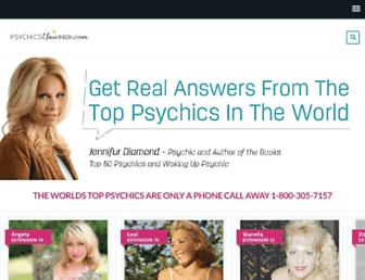 psychicsuniverse.com screenshot