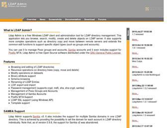 ldapadmin.org screenshot