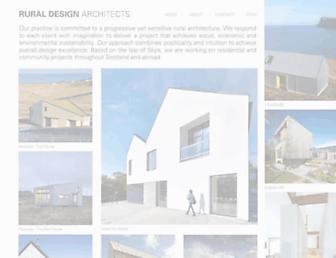 ruraldesign.co.uk screenshot