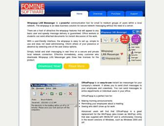 fomine.com screenshot